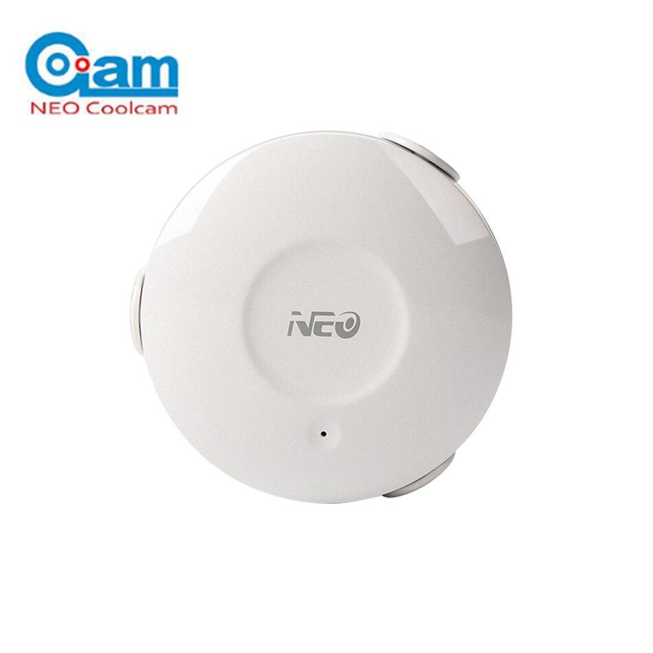 2018 NEO COOLCAM Smart WiFi Capteur D'eau D'inondation Détecteur De Fuite D'alarme APP Notification Alert No Hub Nécessaire Smart Domotique