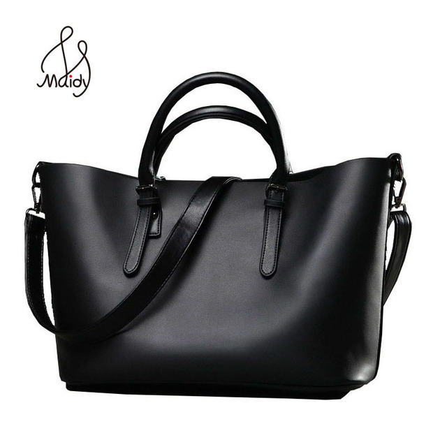 New Luxury Genuine Vintage Famous Brand Women Black Split Leather Tote Bags For Bag Channels
