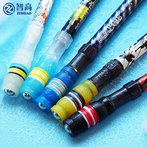 1PC Non Slip Pen Spinning Pen Mod Multi Function Pen coated kids School Supplies Writing Finger Toy Pens Rolling Random Color