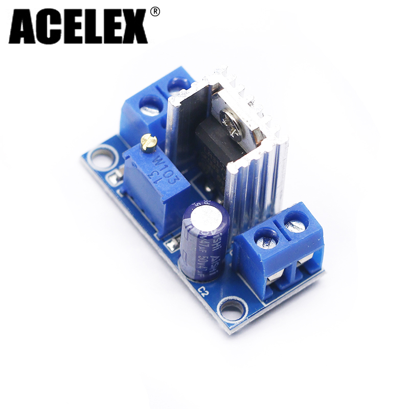 LM317 DC-DC Converter Buck Step Down Circuit Board Module Linear Regulator LM317 Adjustable Voltage Regulator Power Supply lm317 lm337 adjustable filtering power supply kits diy ac dc voltage regulator