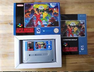 16Bit игры ** battletoads и Double Dragon (УКВ PAL версия! Коробка + руководство + картридж!)