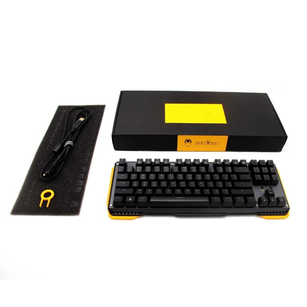 87Keys Mechaniczna klawiatura do gier z przełącznikiem Gateron - Peryferia komputerowe - Zdjęcie 5
