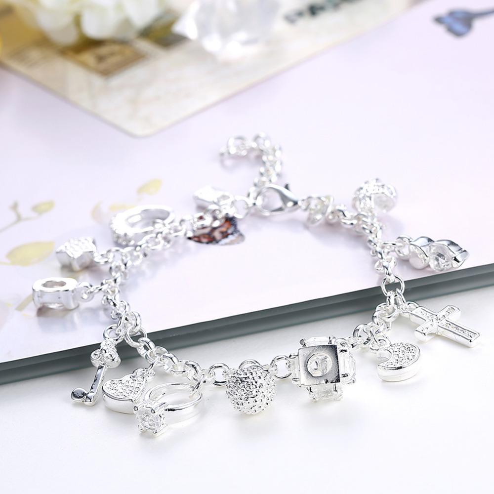 soxy разбили оптовая цена на серебро 13 талисман браслет модные женские туфли дешевые ювелирные изделия