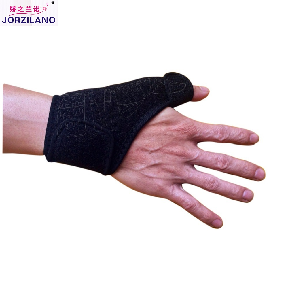 Quality Black Breathable Wrist Support Brace with Thumb Splint for Thumb Injury Scaphoid Fractures Carpal Tunnel Syndrome Sprain