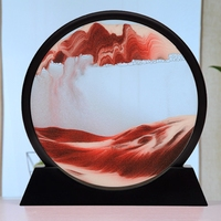 flowing sand pictures painting gift moving hills landscapes desktop art diy drawing toy 3D dynamic craft home decoration