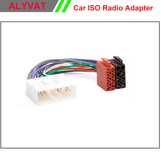 car iso wiring harness stereo for ssang yong 2005 onwards daewoo rh aliexpress com Automotive Wiring Harness Trailer Wiring Harness