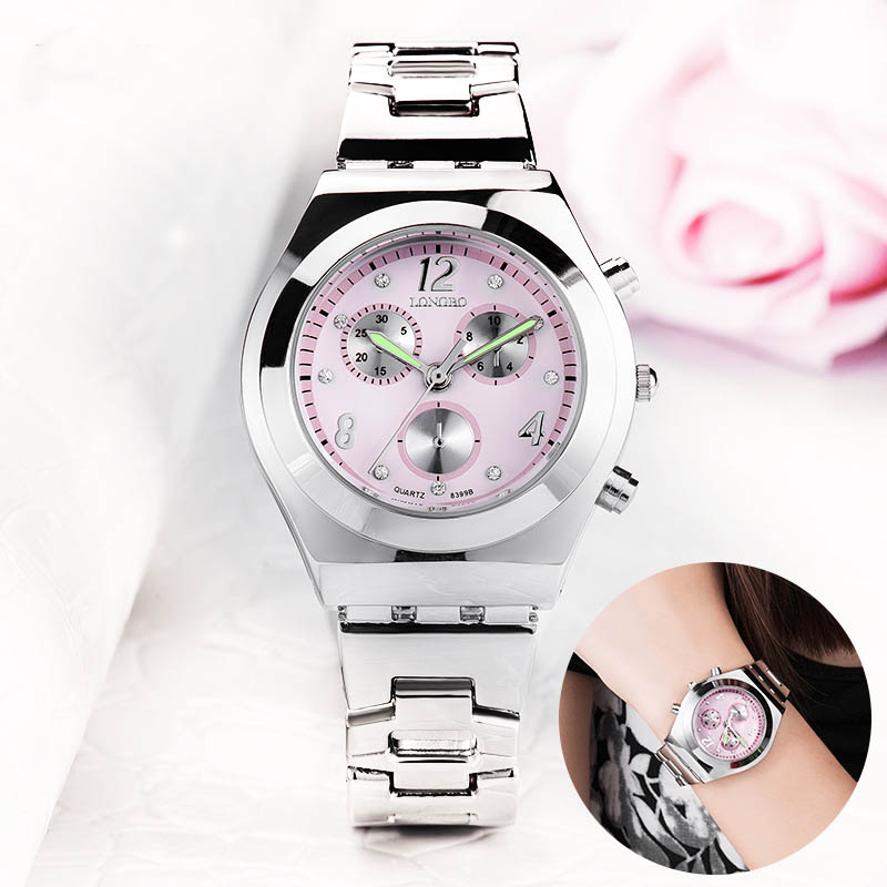 Mode Longbo 8399 luxe étanche femmes dames Quartz horloges dames montres Relogio Feminino Montre Femme Reloj Mujer