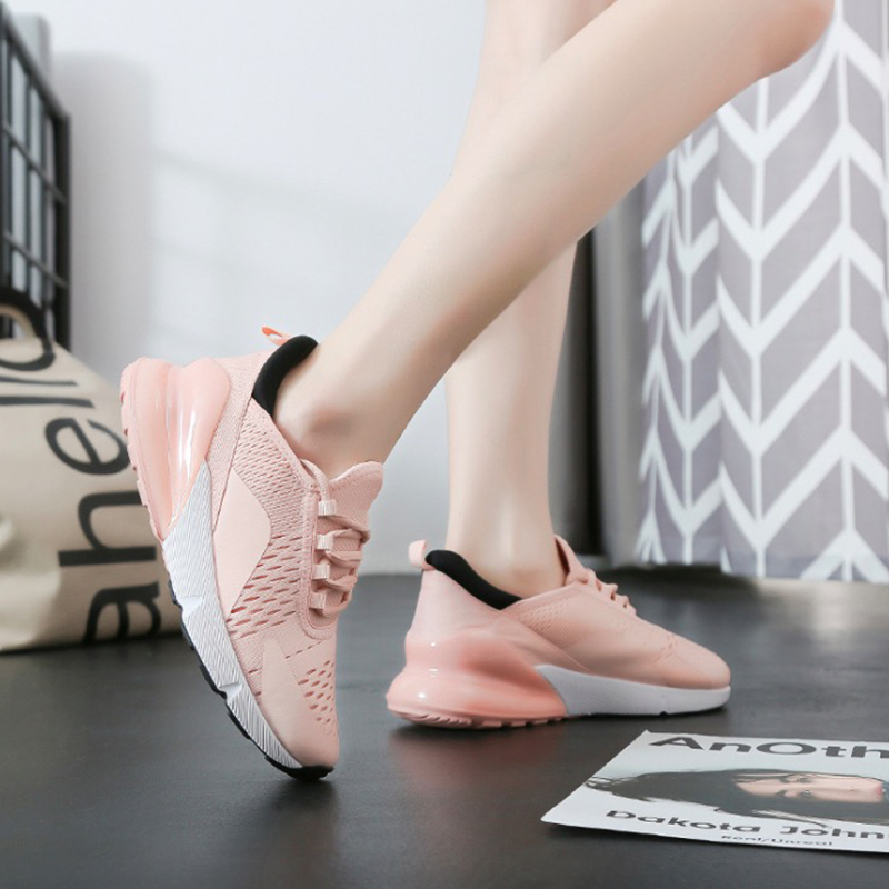 Women Sneakers 2019 Fashion Women Casual Shoes Lace-Up Flats Platform Spring Summer Lightweight Breathable Mesh Women ShoesWomen Sneakers 2019 Fashion Women Casual Shoes Lace-Up Flats Platform Spring Summer Lightweight Breathable Mesh Women Shoes