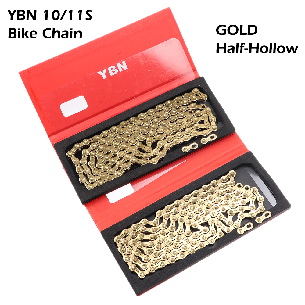 Gold US SELLER New YBN 11 Speed SLA-H11 Bike Bicycle Chain for SHIMANO SRAM