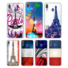 Silicone Phone Case France Paris Flag Fashion for Samsung Galaxy Note 8 9 M30 M20 M10 S10 S9 S8 Plus Lite S6 S7 Edge Cover