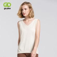 GOPLUS 2019 Sleeveless Soft Thin Knitted Tank Tops Women Sexy V Neck Stripe Basic Vest Summer Elegant Street Camis Female Shirts