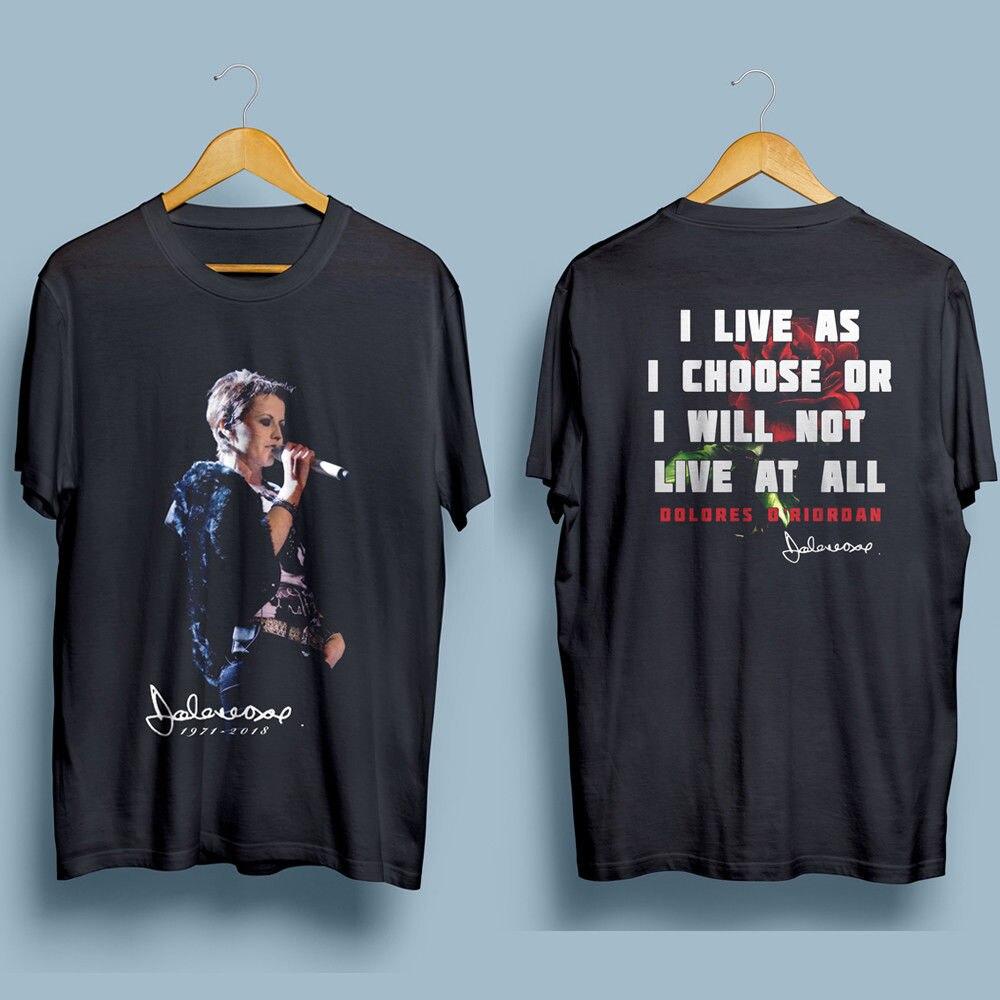 Брусника Долорес o'riordan Rip Мужская Gildan черная футболка S 4XL