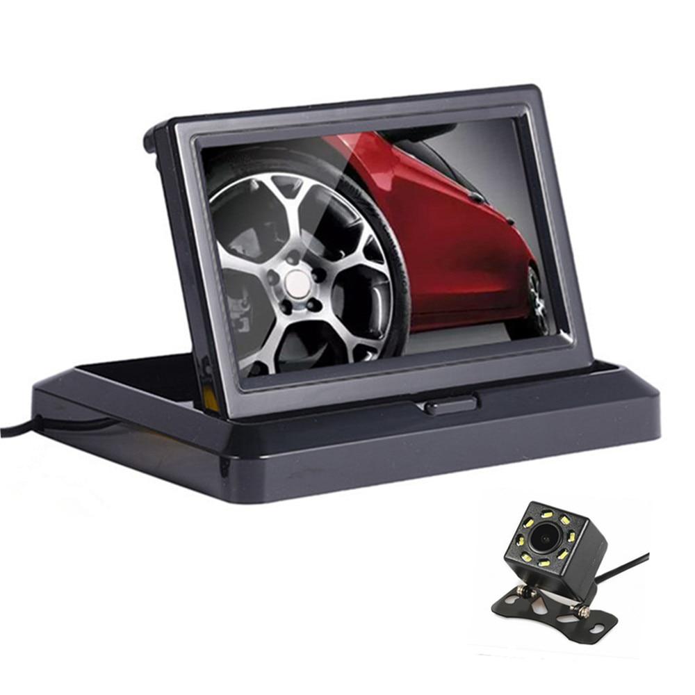 Foldable Car Monitor 5