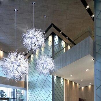 מודרני מינימליסטי שן הארי נברשת סלון חדר שינה בגדי חנות כוכבים נברשות מסעדת קפה LED אורות led מנורות