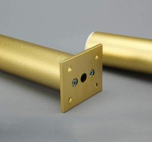Image 3 - 4 stuks Meubelen Kabinet voeten Tafel Slaapbank TV Kast benen Aluminiumlegering Meubilair benen Verstelbare Gouden voeten