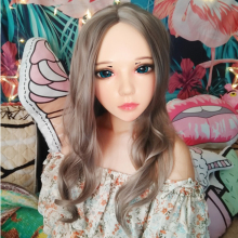 Role Crossdress Half-Head Kigurumi Anime Lolita-Mask Cosplay Female Japanese Girl BJD