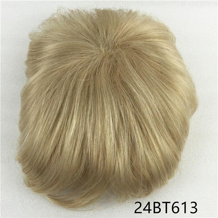 Сильная красота парик синтетические волосы парик выпадение волос топ кусок парики 36 цветов на выбор - Цвет: Цвет: желтый