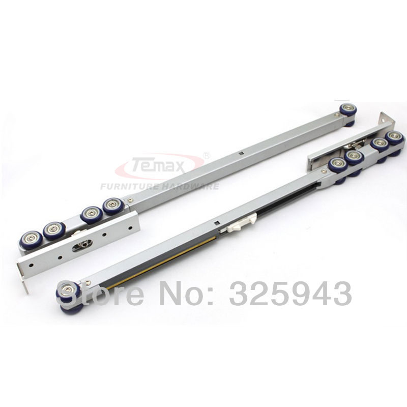 Wardrobe Hanger Rail Wheel Sliding Door Gear System