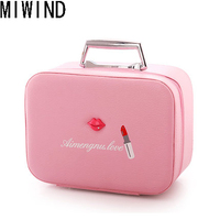 Brand Women Cosmetic Bag High Quality Travel Cosmetic Organizer Zipper Portable Makeup Bag Designers Boxs