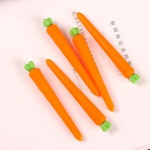 Image 4 - 48 sztuk Kawaii Food Erasers Lot śliczne kaktus kukurydza marchew gumka do zmazywalny żel długopis i ołówki wielofunkcyjne przybory szkolne dla dzieci