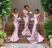 Сексуальные платья невесты Спагетти ремень Праздничное Платье de Casamento Sheer Кружева аппликация Румяна персик Длинные платья невесты
