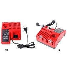 Для Milwaukee 10,8 В 12 В 18 В M12 M18 48-11-24xx серии литий-ионный Батарея N12 M12-18C литий-ионный Батарея Зарядное устройство Красный