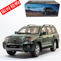 Toyota Land Cruiser 1:18 LC200 HOT SALE Original car model SUV Toy Japan Luxury cars Classic cars Christmas gift Collection