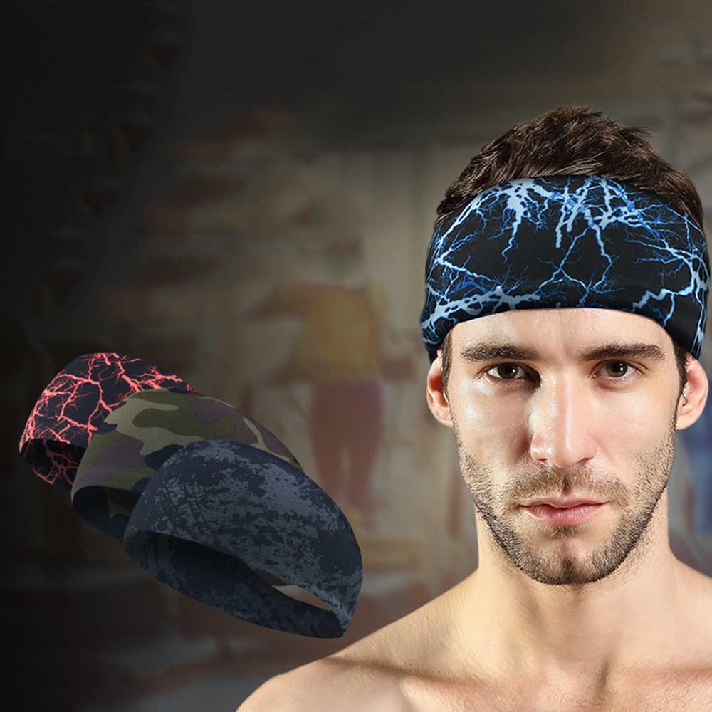 5 kolory Sport potu z pałąkiem na głowę chłonne jazda na rowerze akcesoria do jogi opaska dla mężczyzn i kobiet opaski do włosów opaski na głowę potu zespoły Sport