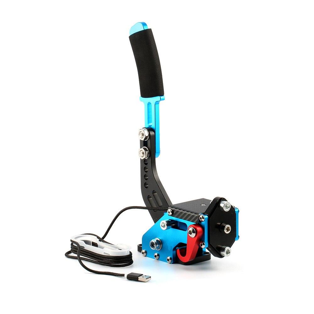 Brake System Handbrake for rally for Logitech g29/g27/g25 pc 14bit Hall  Sensor USB SIM racing For Racing Games T300 T500