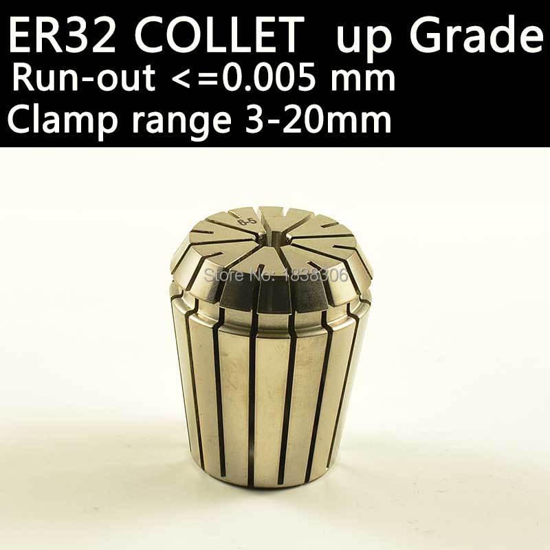 ER collets chuck endmill cutting tool 1 pcs ER32 COLLET CNC Machine Tools clamp end mill and drill bit milling tool holder chuck free shiping1pcs aju c10 10 100 10pcs ccmt060204 dia 10mm insertable bore drilling end mill cutting tools arbor for ccmt060204