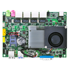 """4 Gigabit Nics 3.5"""" Industrial Motherboard Q4300YG4-P Processor 3M Cache, up to 2.3 GHz,3G/4G function, Pfsense Router"""