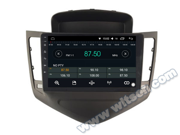 WITSON Android 8 0 9 big screen CAR DVD PLAYER GPS For CHEVROLET CRUZE 2008 2011