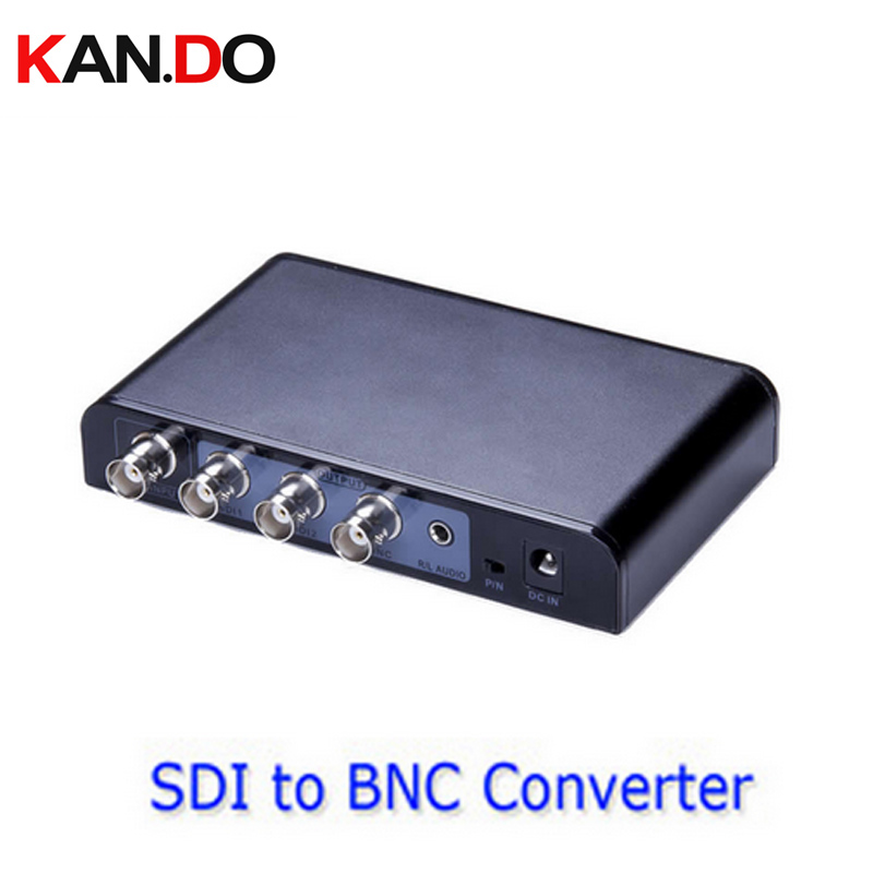 364 Wide Voltage Design Plug And Play Full Function SDI To BNC AV Adapter Repeater For Home Entertainment Converter