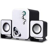 Multimedia USB 2.1 Aktywne Głośniki Komputerowe Audio Stereo Mini Przenośny Subwoofer Altavoces Universa Ordenador na Pulpicie Laptopa