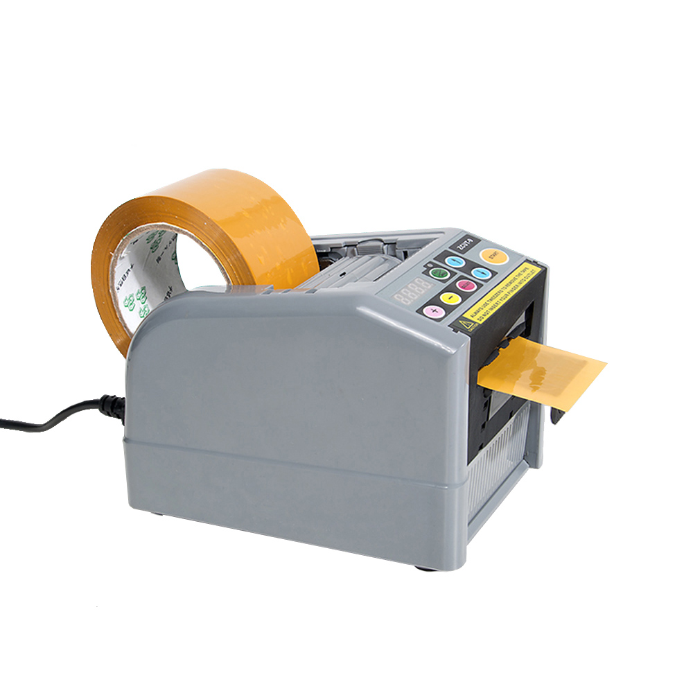 Automatic Tape Dispenser Automatic Tape Cutting Machine For Max Tape Width 60mm Max Tape Roller Dia.300mm 110V/220V automatic tape dispenser zcut 9 tape cutter 6 lengths memory function 60mm width tape max tape roller dia 300mm page 2