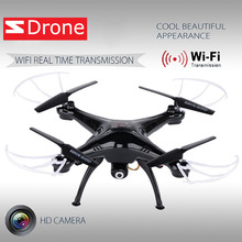 Good X5SW Black Quadcopter Drone with HD Camera 6-Axis Gyro 2.4G 4CH Real-time Images Return RC FPV Plane WIFI