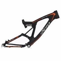 BEIOU Downhill Dual Suspension 3K Carbon Mountain Bike Frame DW LINK 27.5 Inch Matte Black Unibody MTB FMB022A18Y