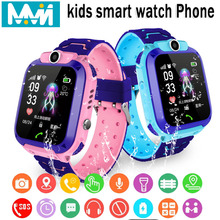 Kids Smart Watch IPX7 Waterproof watch Touch Screen SOS Phone Call Device Location Tracker Anti-Lost childs smart