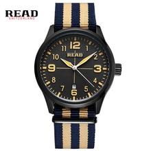 LEER Relojes de Los Hombres de Moda Reloj Deportivo Marca de Lujo Correa De Nylon Reloj Auto Fecha Reloj de pulsera Relogio Masculino masculino Ocasional 2060