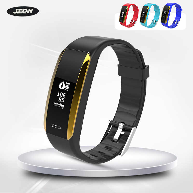 V07 Men Women Blood Pressure Heart Rate Monitor Smart Band Health Fitness Tracker Wristband Smart Bracelet for IOS for Android