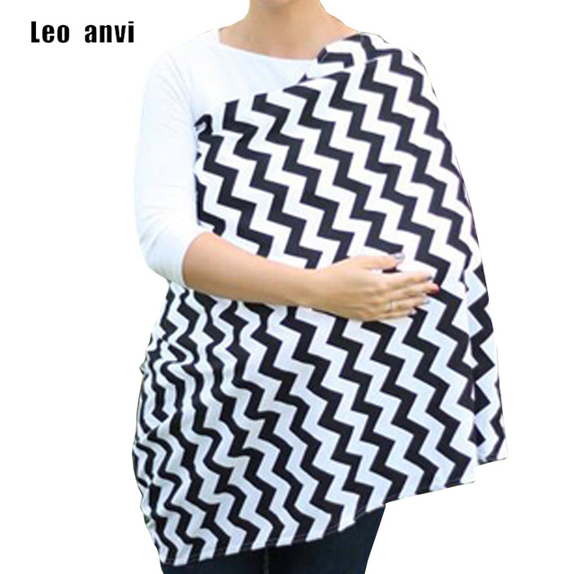 talla 40 a7e67 4ab98 € 8.34 29% de DESCUENTO|Bufanda para mujer, funda de algodón para lactancia  gruesa a rayas Infinity bufanda foulard femme hijab, bebé chevron ...