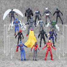 16pcs/lot Marvel superheroes Avengersr Captain America Civil War
