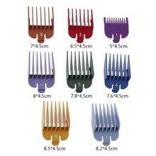 8P универсальная машинка для стрижки волос предельный гребень направляющая насадка Размер Парикмахерская Замена