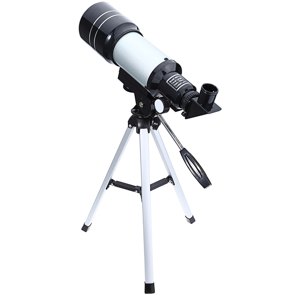 Gameit Astronomical Monocular Telescope 2 Types Silver Professional Space Telescopes with Tripod Landscape Lens for Astronomy kid s gift entry level astronomical telescope with tripod for children