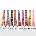 Ronda de Impresión de la Bufanda de Seda Pequeña Cinta Twilly 2016 de Alta Calidad de La Manera venda de Las Mujeres Bolso de la Manija al por mayor 96x5 cm