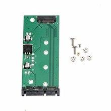 מחשב נייד SSD NGFF M.2 כדי 2.5 אינץ 15Pin SATA3 מחשב ממיר מתאם כרטיס זרוק משלוח 0624