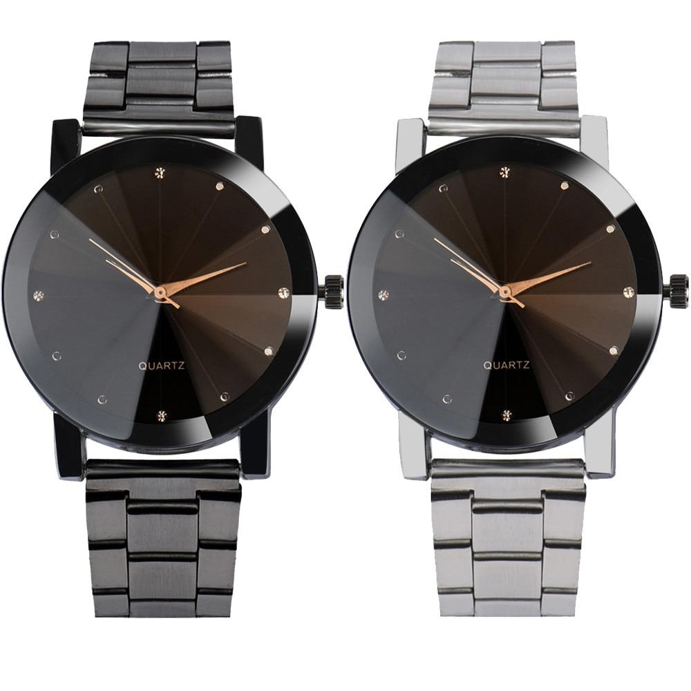 Reloj de pulsera de cuarzo analógico de cuarzo de acero inoxidable - Relojes para hombres - foto 3