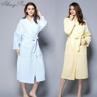 Bathrobe women ladies sleepwear robe bath gown nightgown female bath robe women homewear indoor clothing CC064