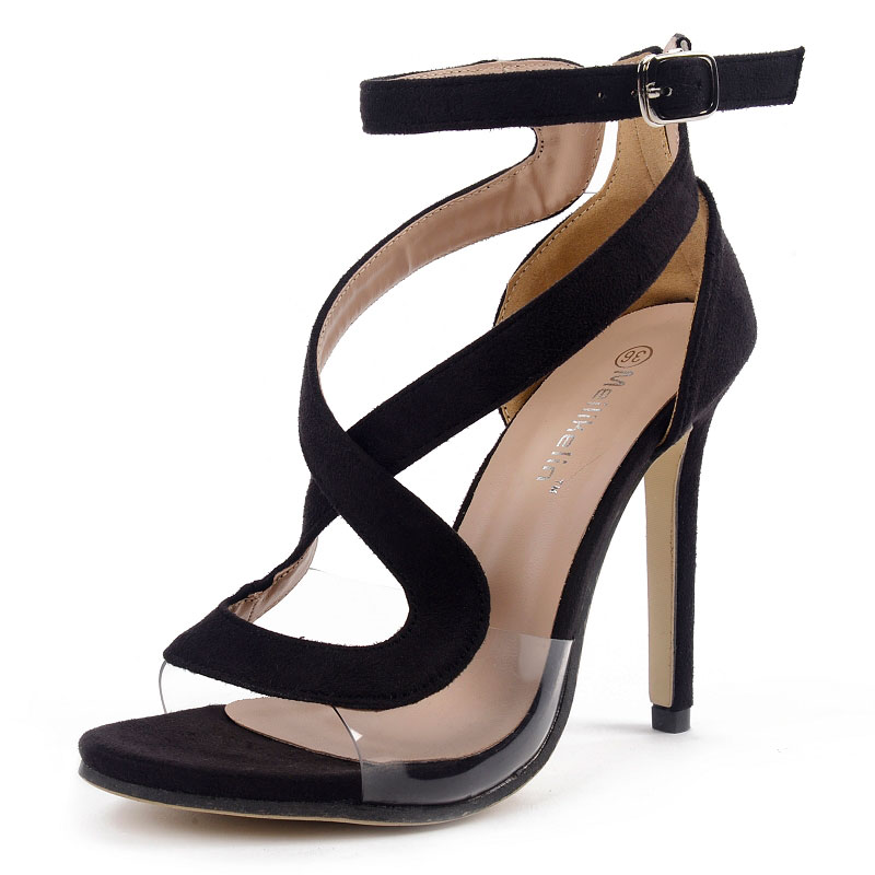 Women Gladiator Sandals Female Buckle Strap High Heels Stiletto Rome Sexy Open Toe Shoes Thin Heels Party Wedding Ladies Shoes brand new stiletto high heels sandals gladiator women sexy platform rome style shoes summer ladies open toe buckle pumps fashion