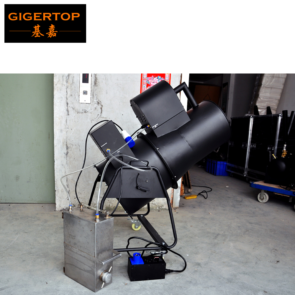 TIPTOP TP-T110 2500W Stage Snow Effect Blower Machine DMX512 <font><b>IN</b></font>/<font><b>OUT</b></font> / Manual <font><b>Control</b></font> High <font><b>Fan</b></font> <font><b>Speed</b></font> for stage event DJ Wedding